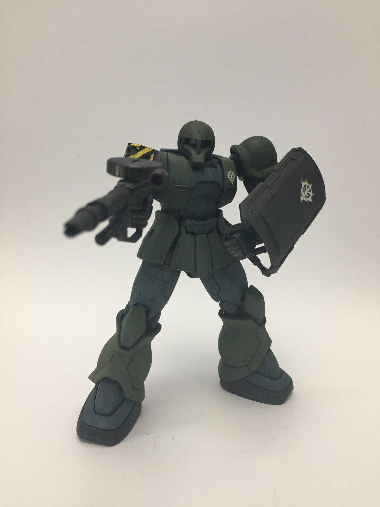 MS-05 ザクⅠ 1st.color ver. アピールショット2