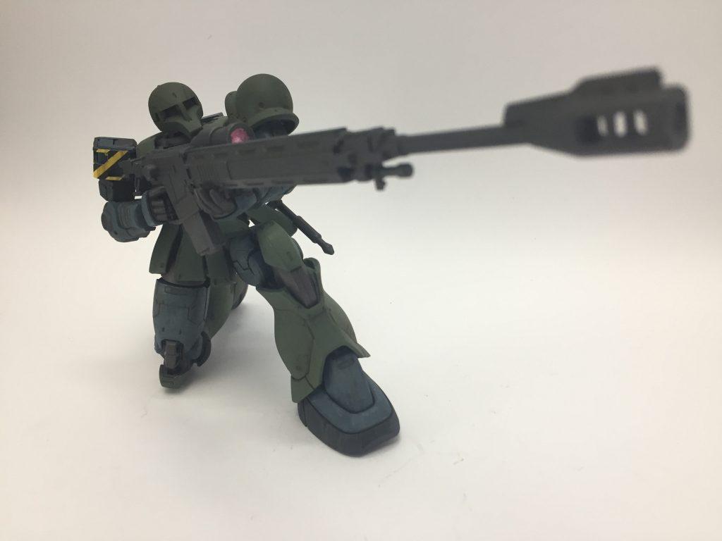 MS-05 ザクⅠ 1st.color ver. アピールショット5