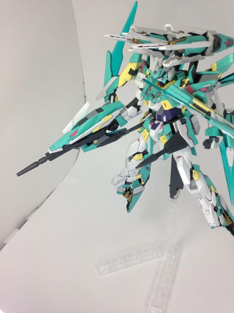 ガンダAG-E5-HAYABUSA アピールショット1