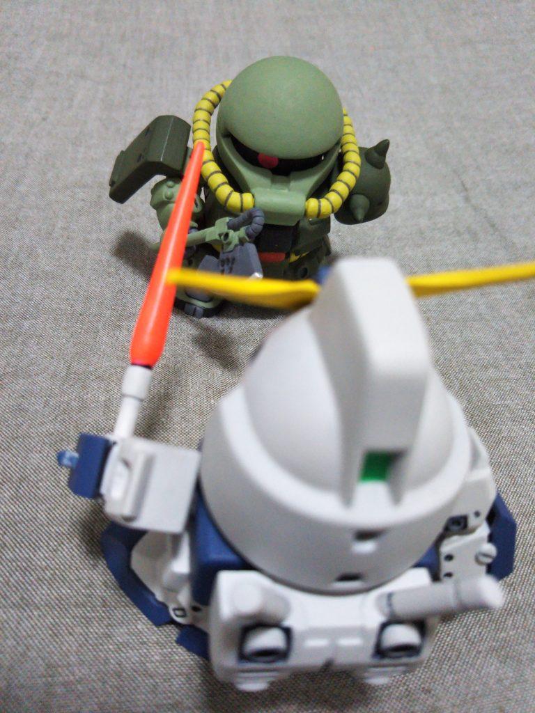 SD ザクⅡ FZ型 (ザクⅡ改) 制作工程4