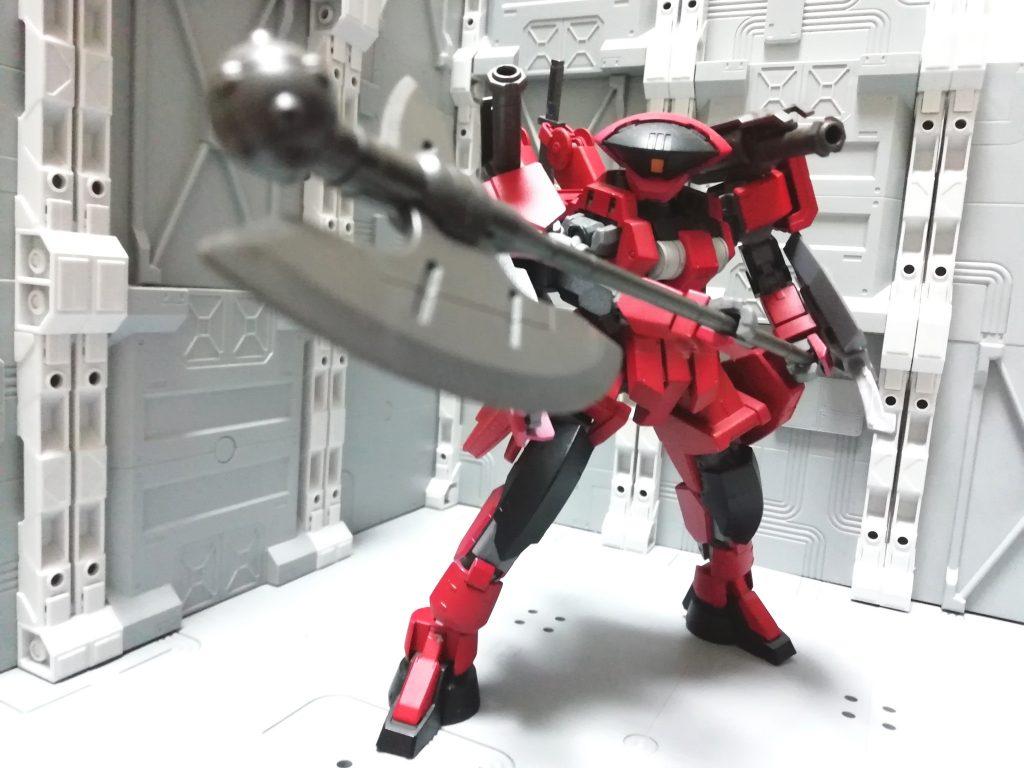 シャルフリヒター・ブラッディ アピールショット1