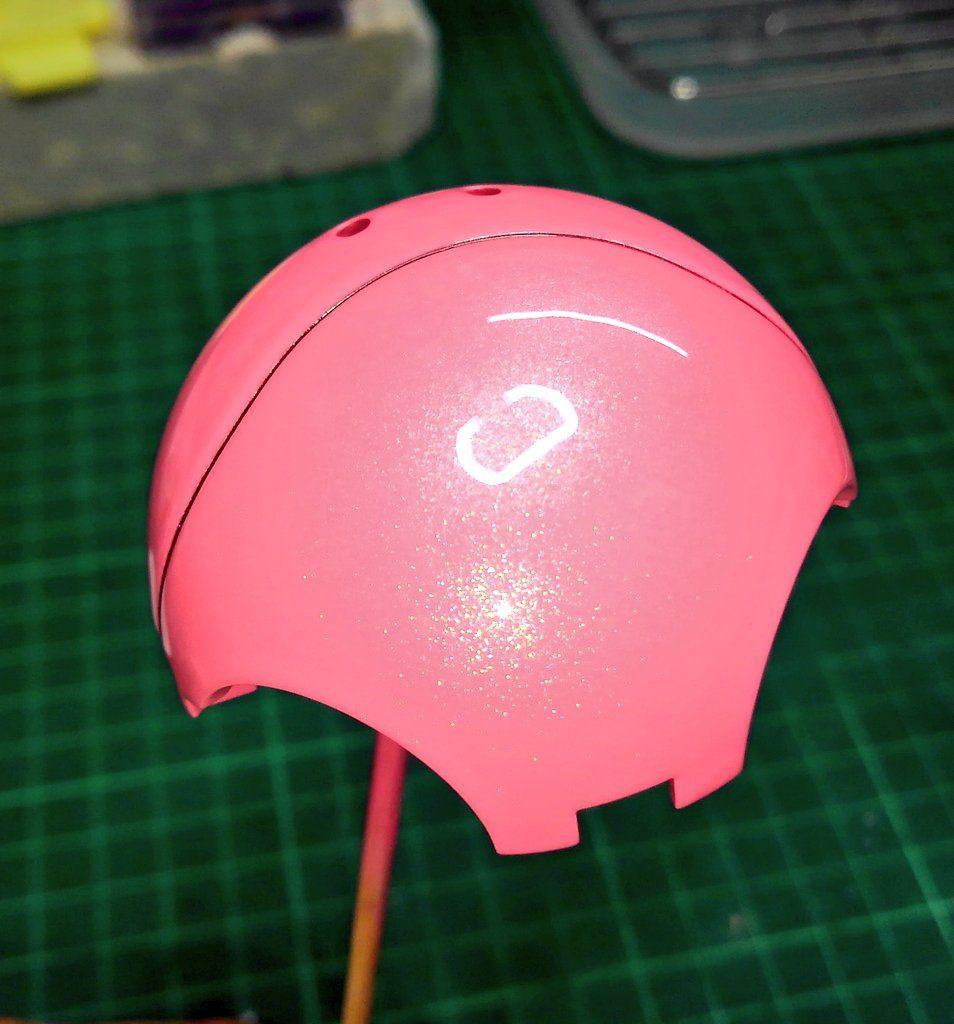 ハロプラ『ピンクちゃん』 制作工程4
