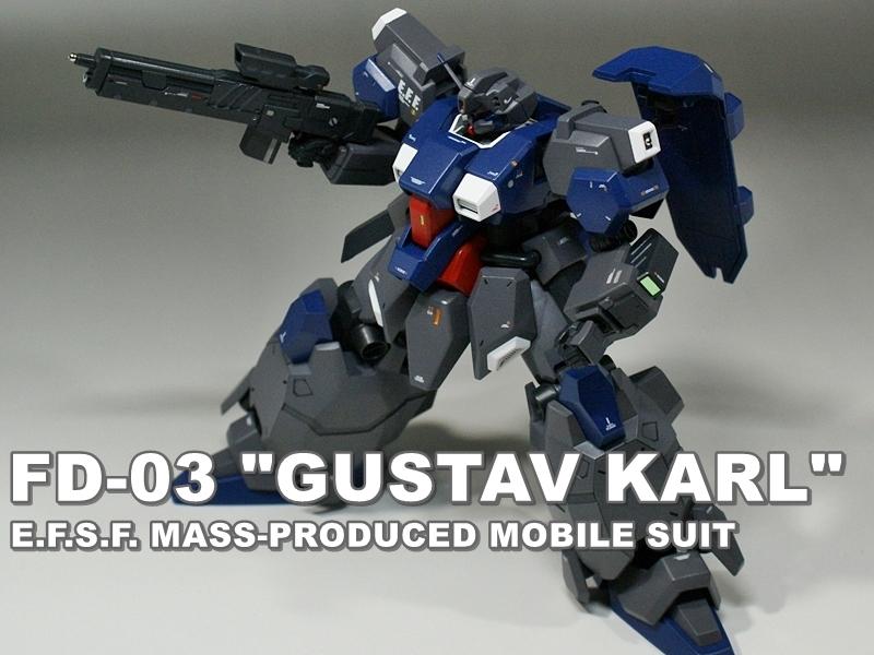 "HGUC FD-03 ""GUSTAV KARL"""