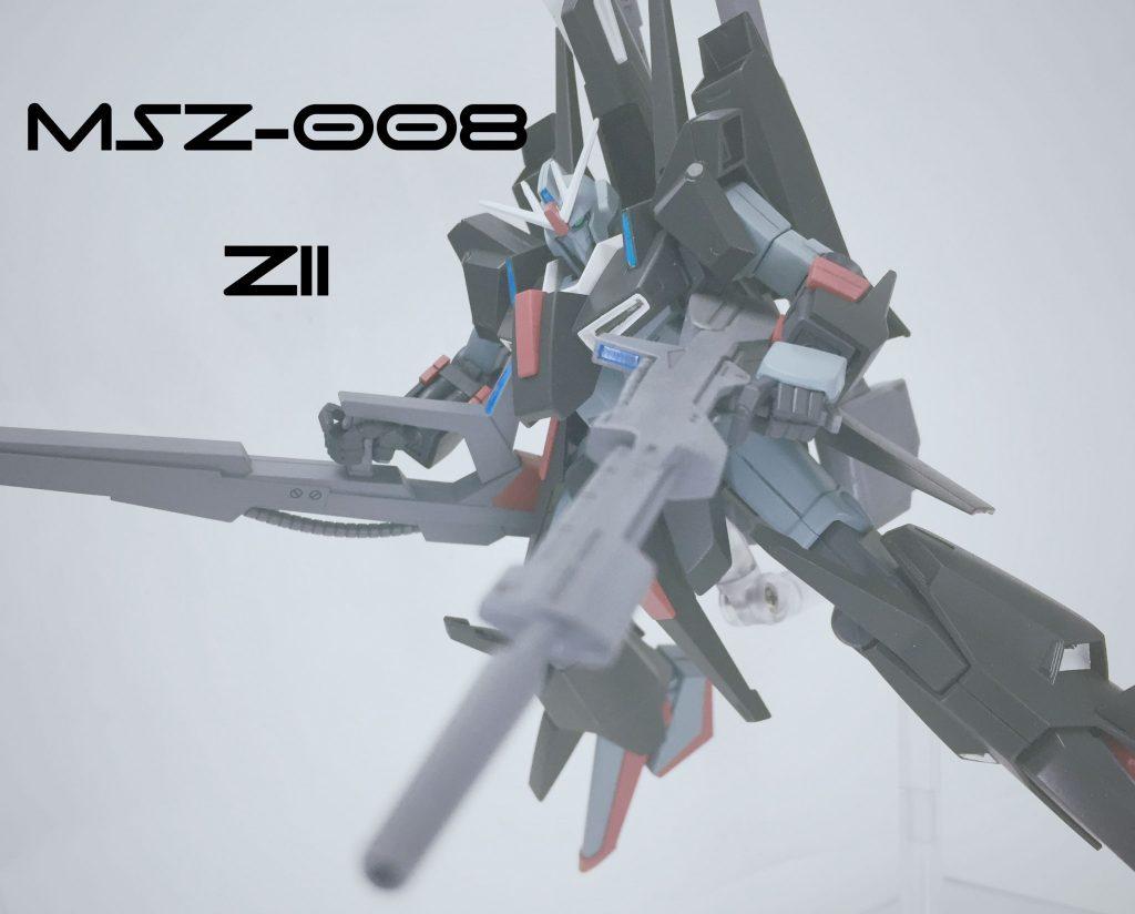 MSZ-008 ZⅡ トラヴィス・カークランド機