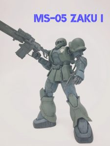 MS-05 ザクⅠ 1st.color ver.