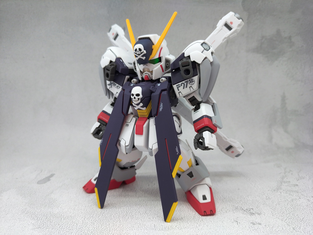 SD Cross Bone Gundam X1 Full Cloth アピールショット4
