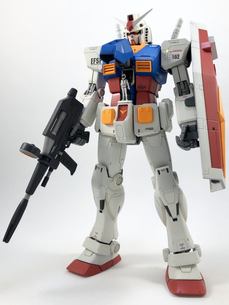 MG RX78-2 ガンダム ORIGIN/Ver.ONE YEAR WARミキシング アピールショット5