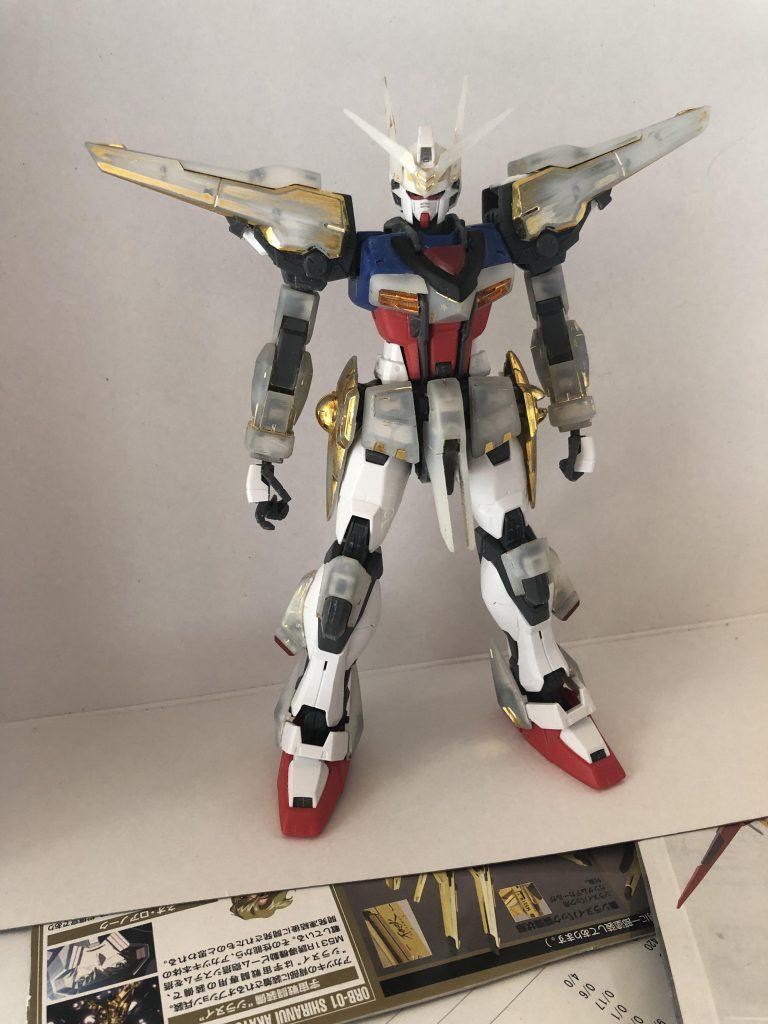 ORB-01  アカツキ 制作工程2