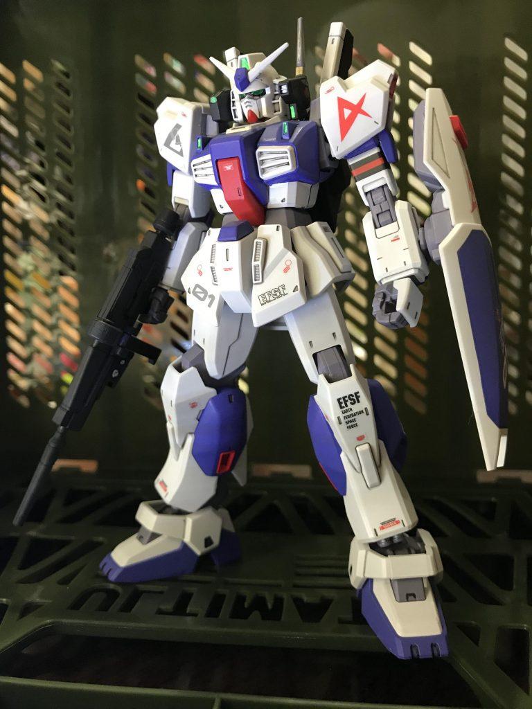 ガンダムMk-Ⅱ アムロ仕様 ロンドベル版 制作工程3