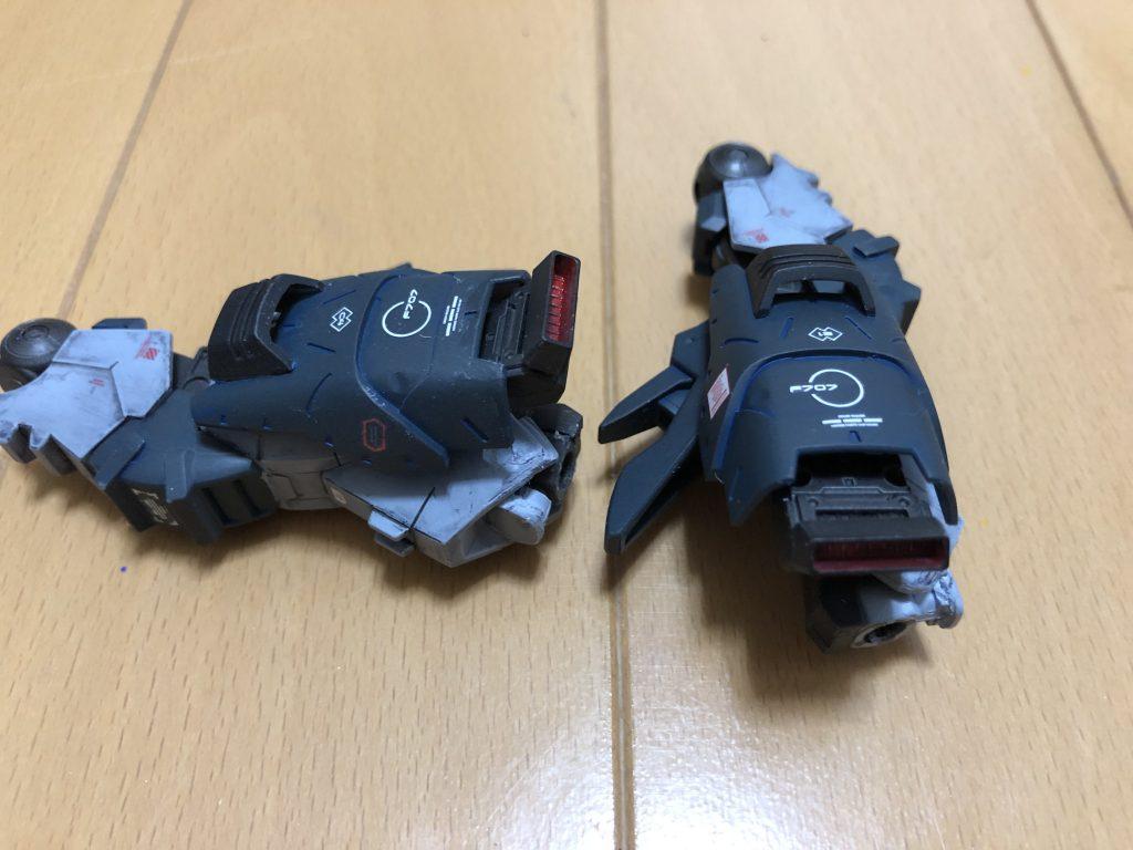 ガンダムアスタロト(重甲) 制作工程3