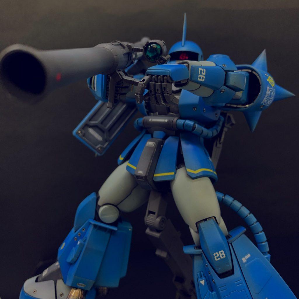MGザク ロバートギリアム専用機 アピールショット3