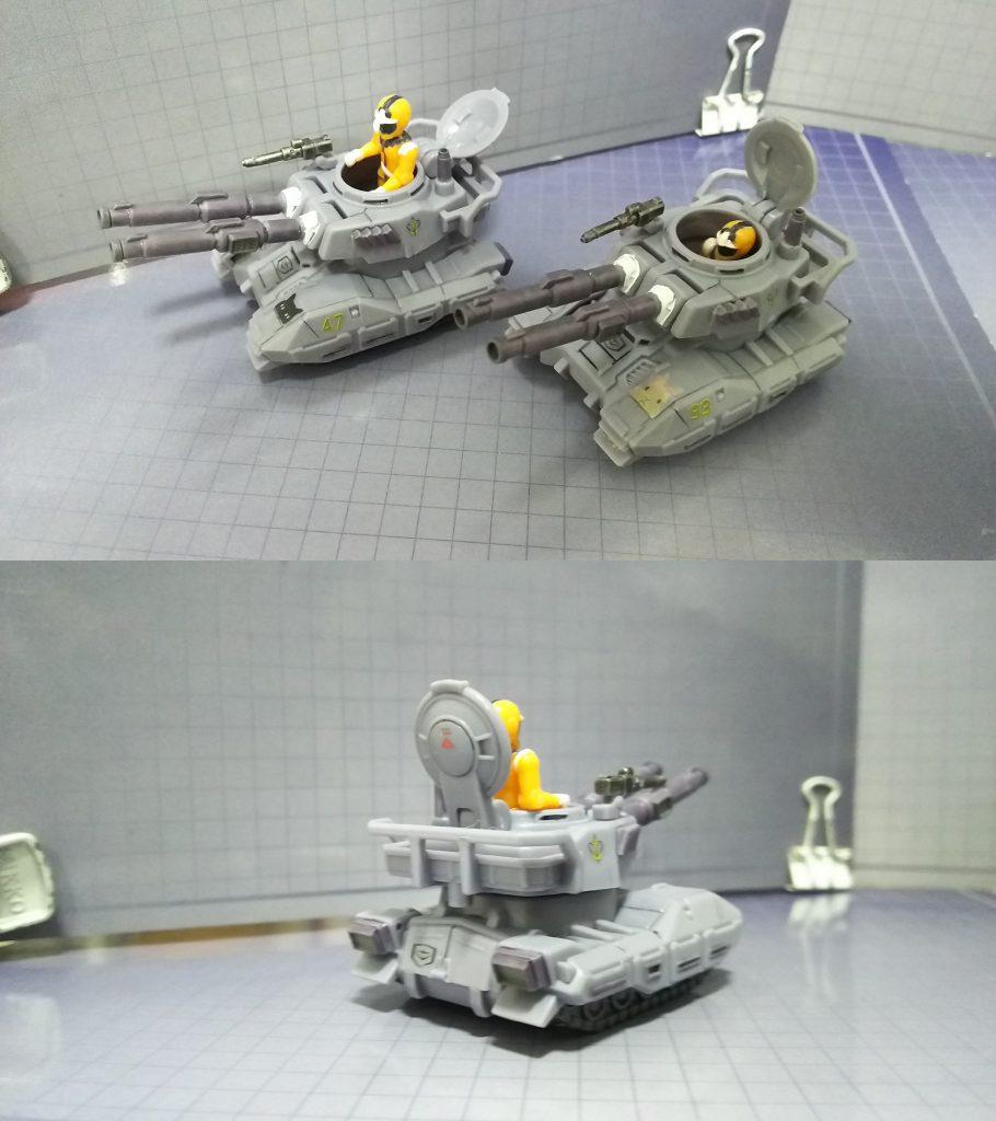 61式戦車(マイクロウォーズ) アピールショット1