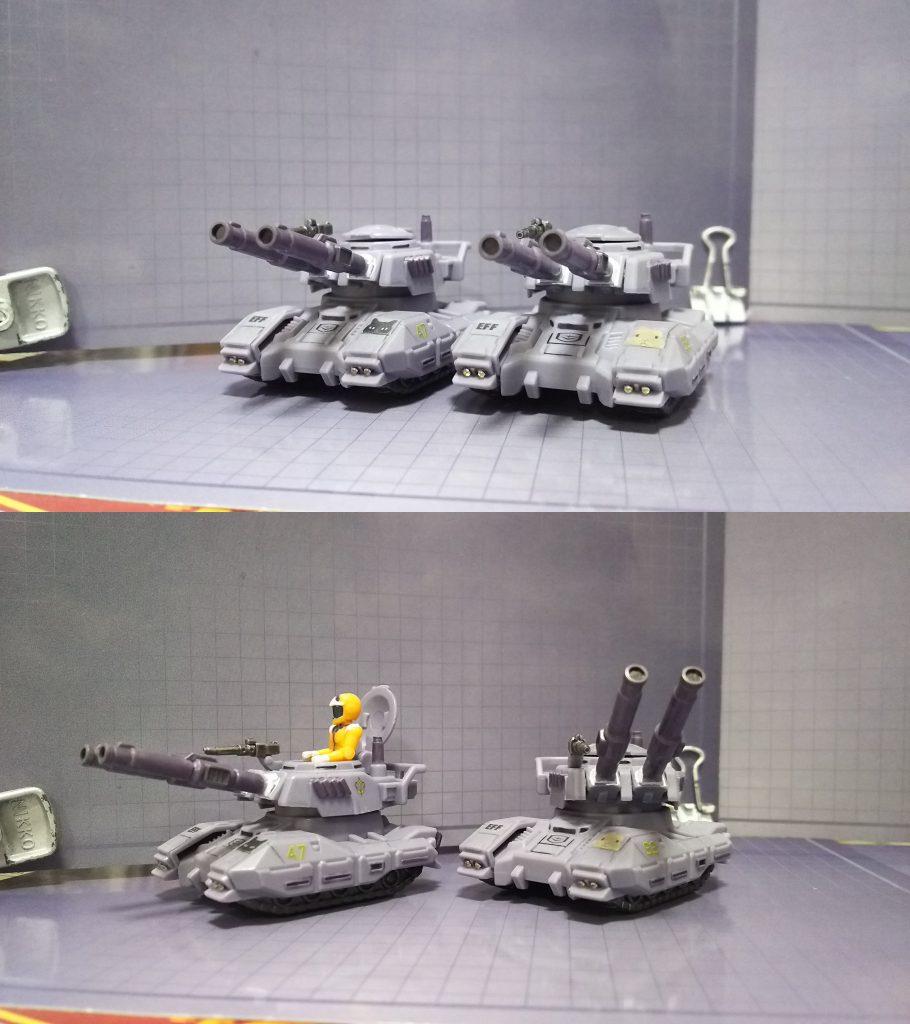 61式戦車(マイクロウォーズ) アピールショット2