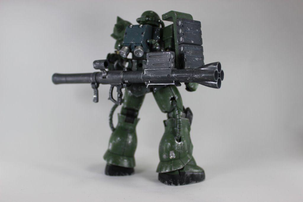 ザクⅡTYPEC-6/R6 アピールショット2