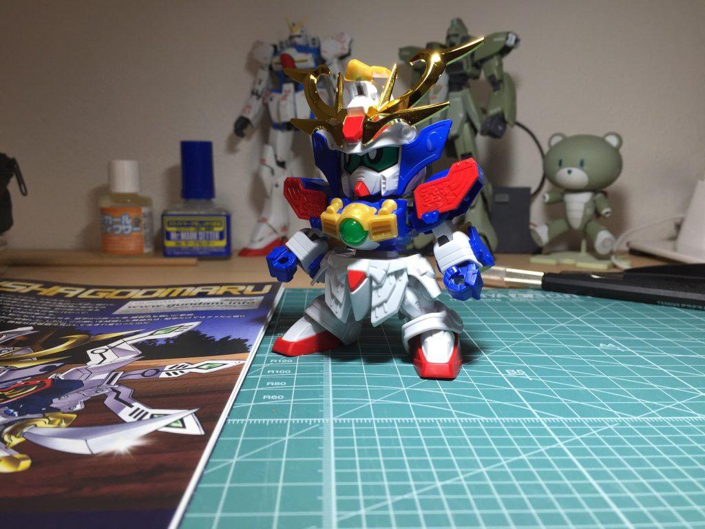 鎧騎士ガンダムF90 制作工程1