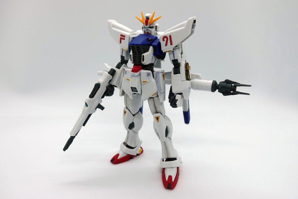 HGUCガンダムF91 アピールショット1