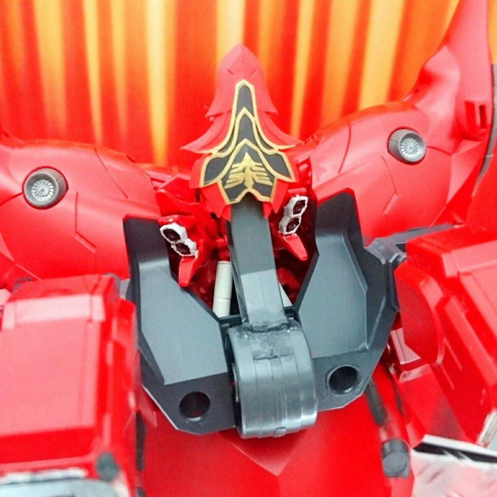BB戦士+ガシャポン戦士DASH改造 ネオジオング アピールショット3