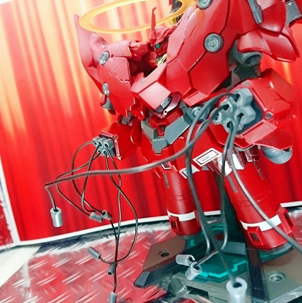 BB戦士+ガシャポン戦士DASH改造 ネオジオング アピールショット6