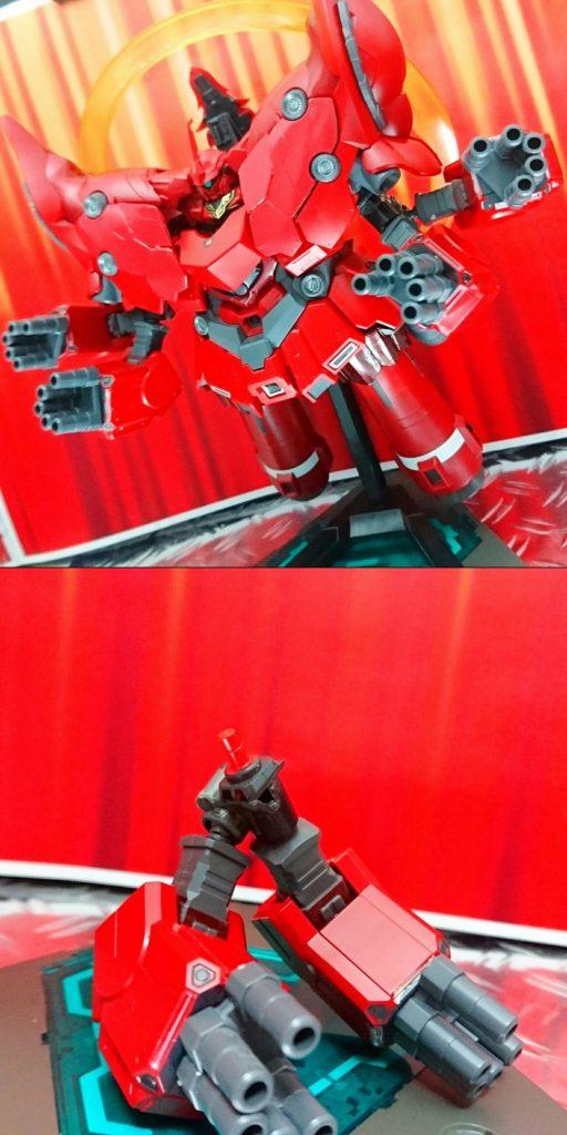 BB戦士+ガシャポン戦士DASH改造 ネオジオング アピールショット7