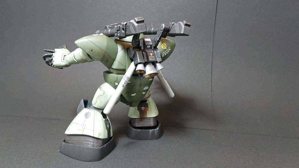 MSM-03 GOGG-CANNON【Ground Artillery type】陸戦型ゴッグキャノン アピールショット2