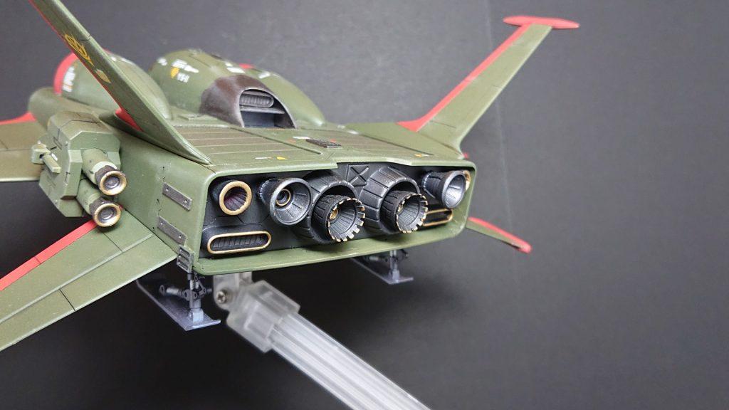 YS-11 DO-DAI YS【Type Zeon Remnant Army Improvement】ドダイYS ジオン残党軍仕様 アピールショット2