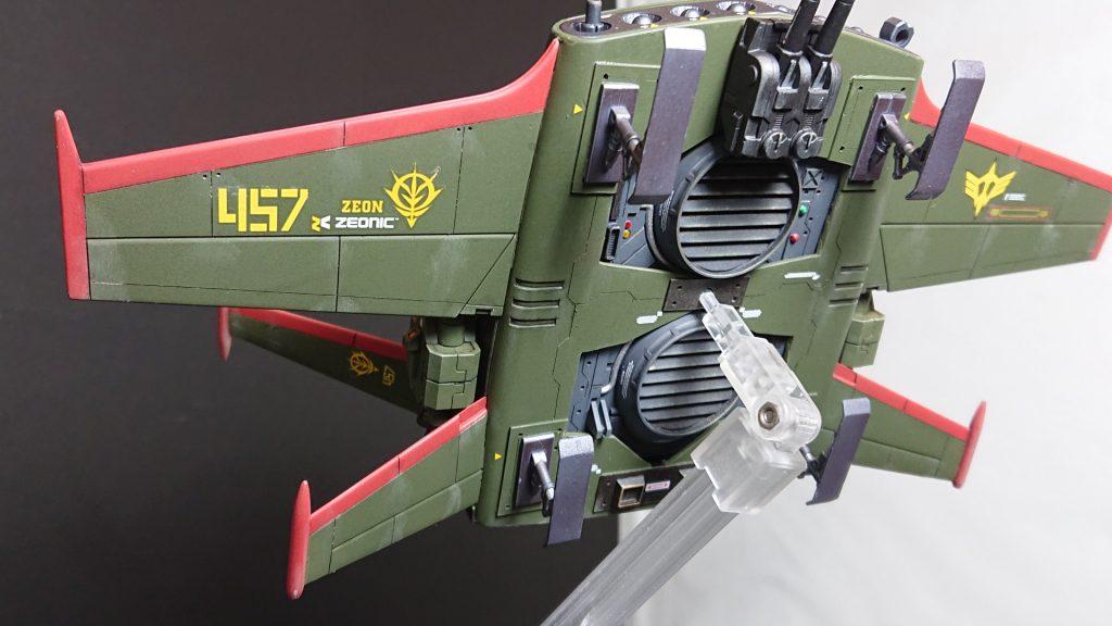 YS-11 DO-DAI YS【Type Zeon Remnant Army Improvement】ドダイYS ジオン残党軍仕様 アピールショット3