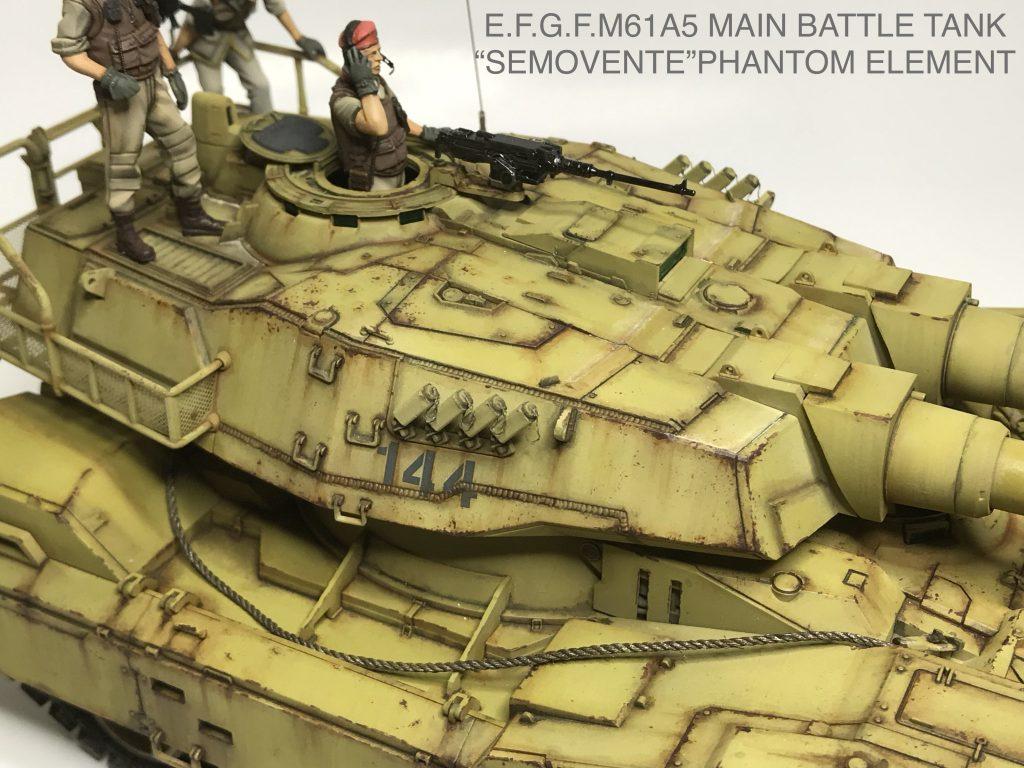 地球連邦軍61式戦車 アピールショット5