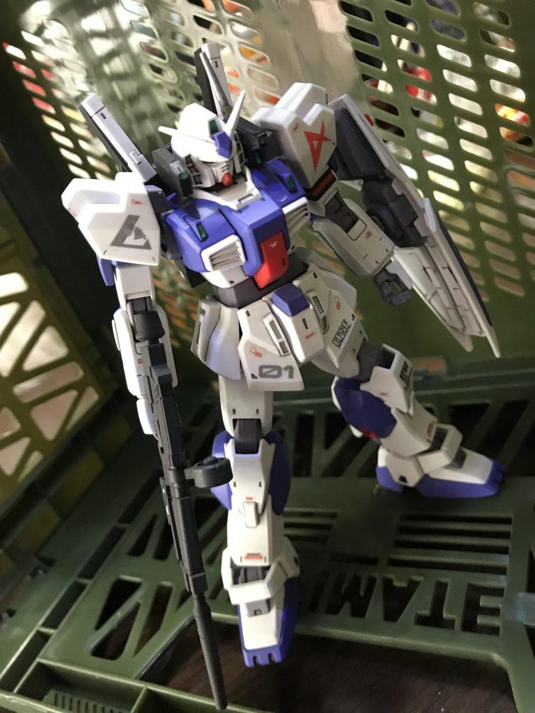 ガンダムMk-Ⅱ アムロ仕様 ロンドベル版 アピールショット7