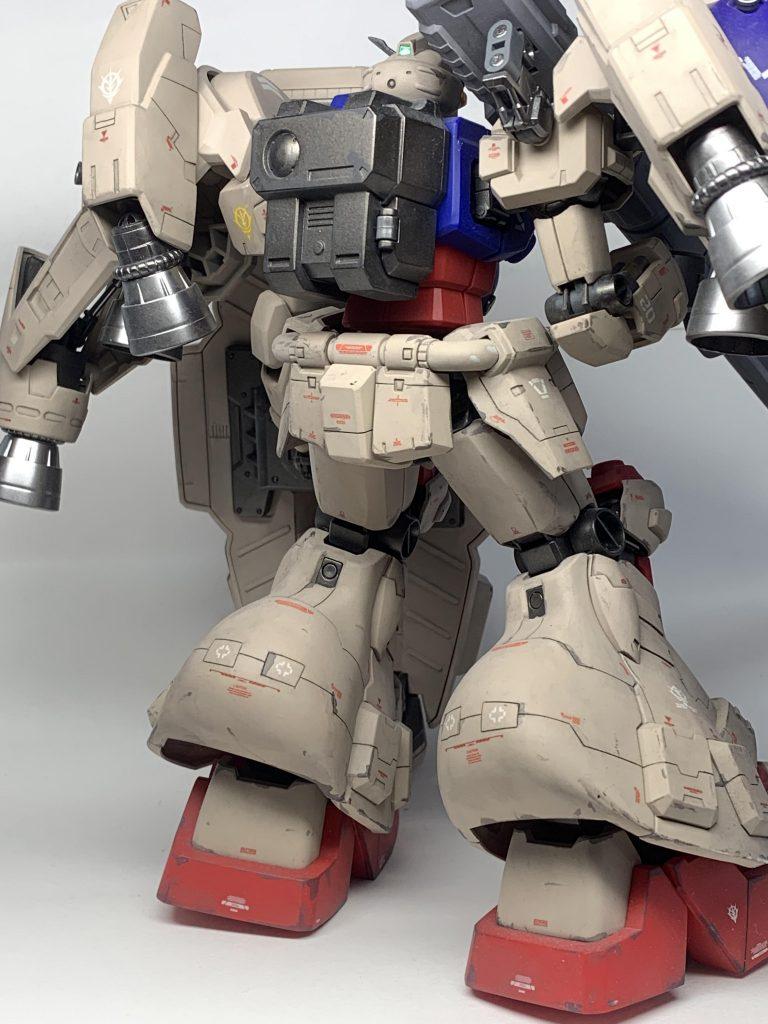 "GUNDAM GP02A ""PHYSALIS"" 1/100 アピールショット2"