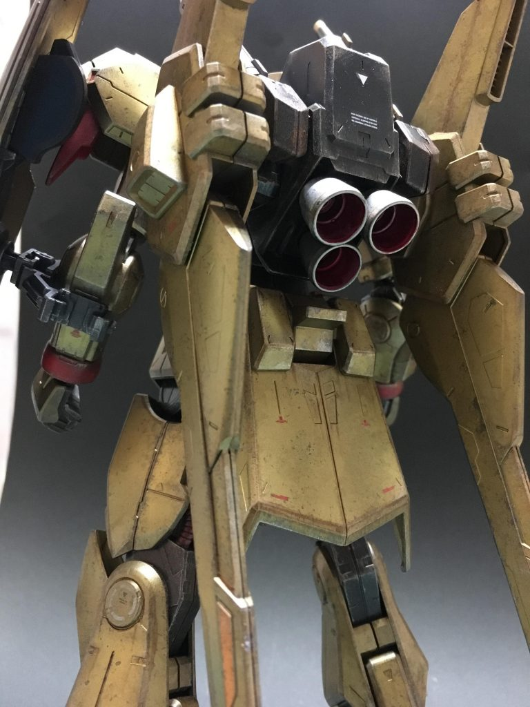 RE ガンダムマークⅢ 耐ビームコーティング試験機 アピールショット3
