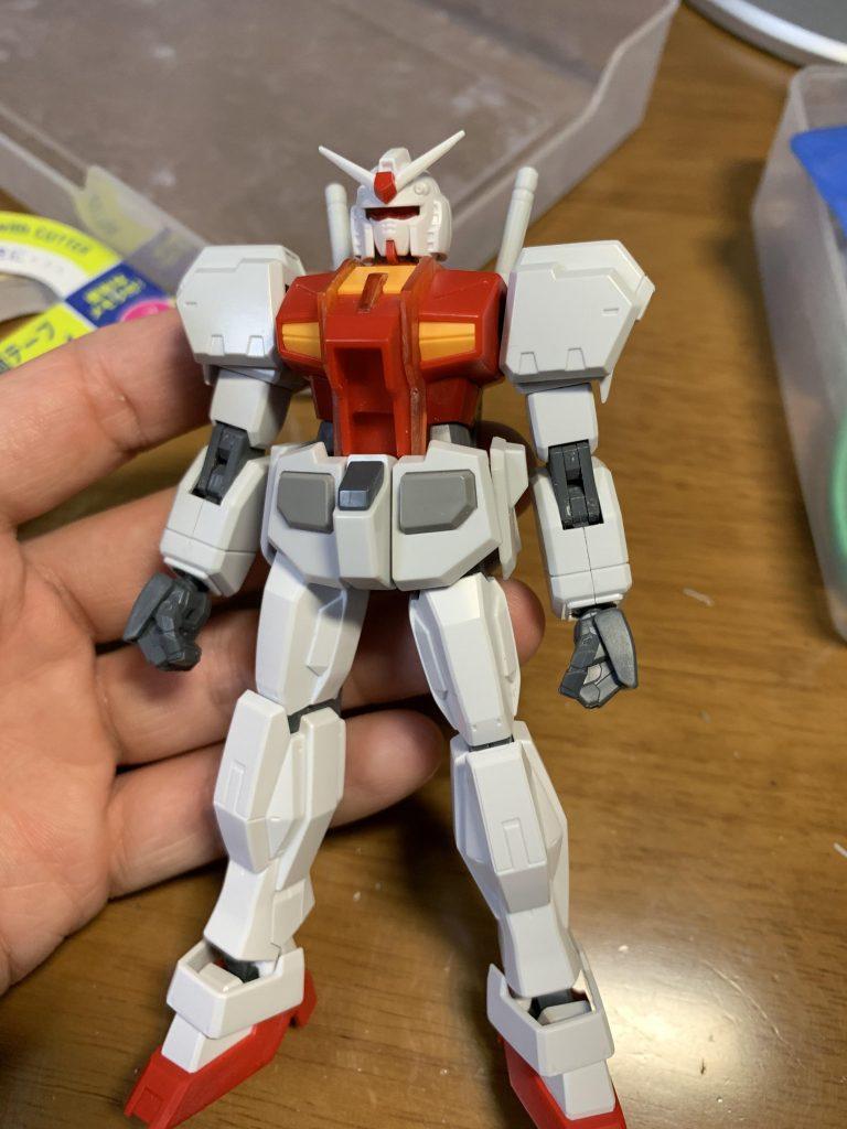 ガンダムR-01 制作工程1