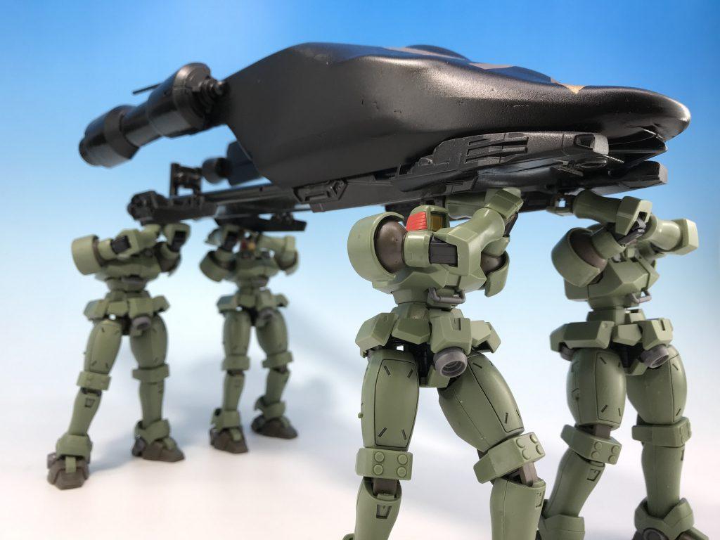 リーオー 雪原戦用部隊 アピールショット8