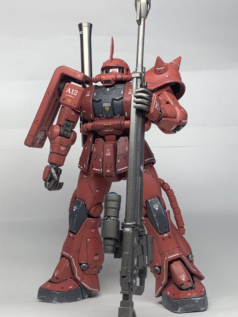 MS-06S  シャア専用ザクⅡ MG