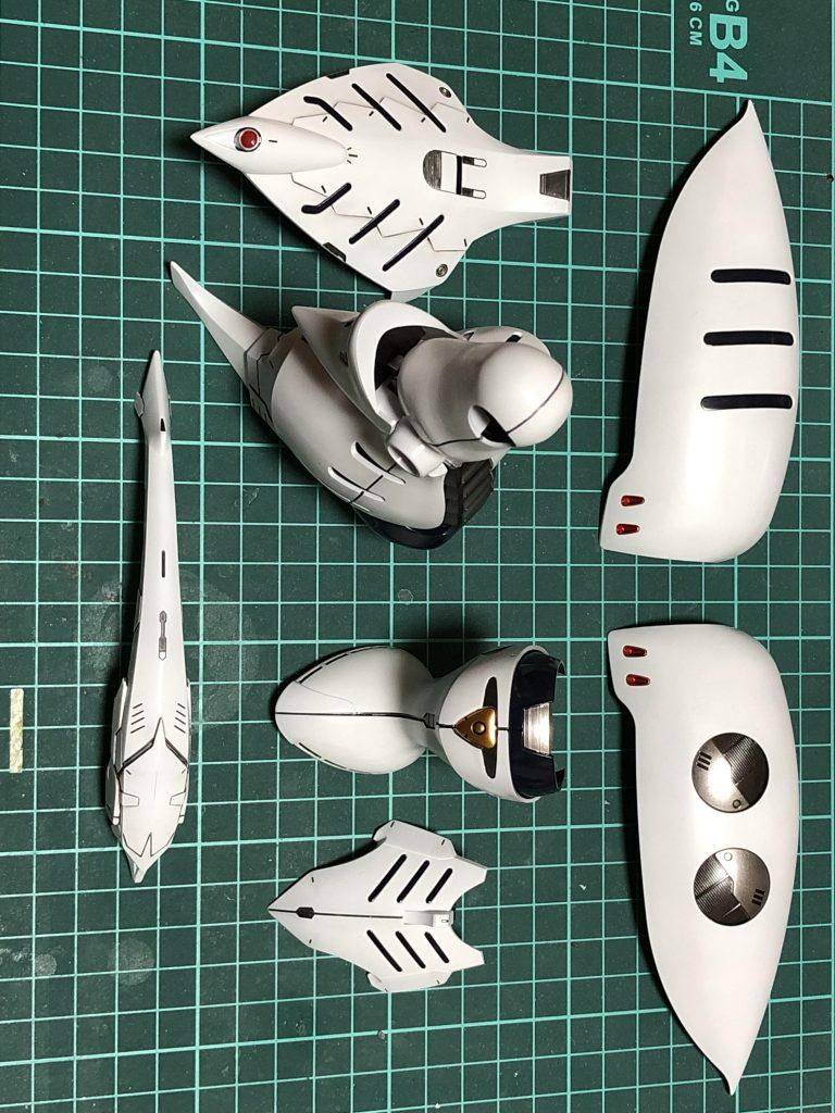 MG 1/100 キュベレイダムド 制作工程4