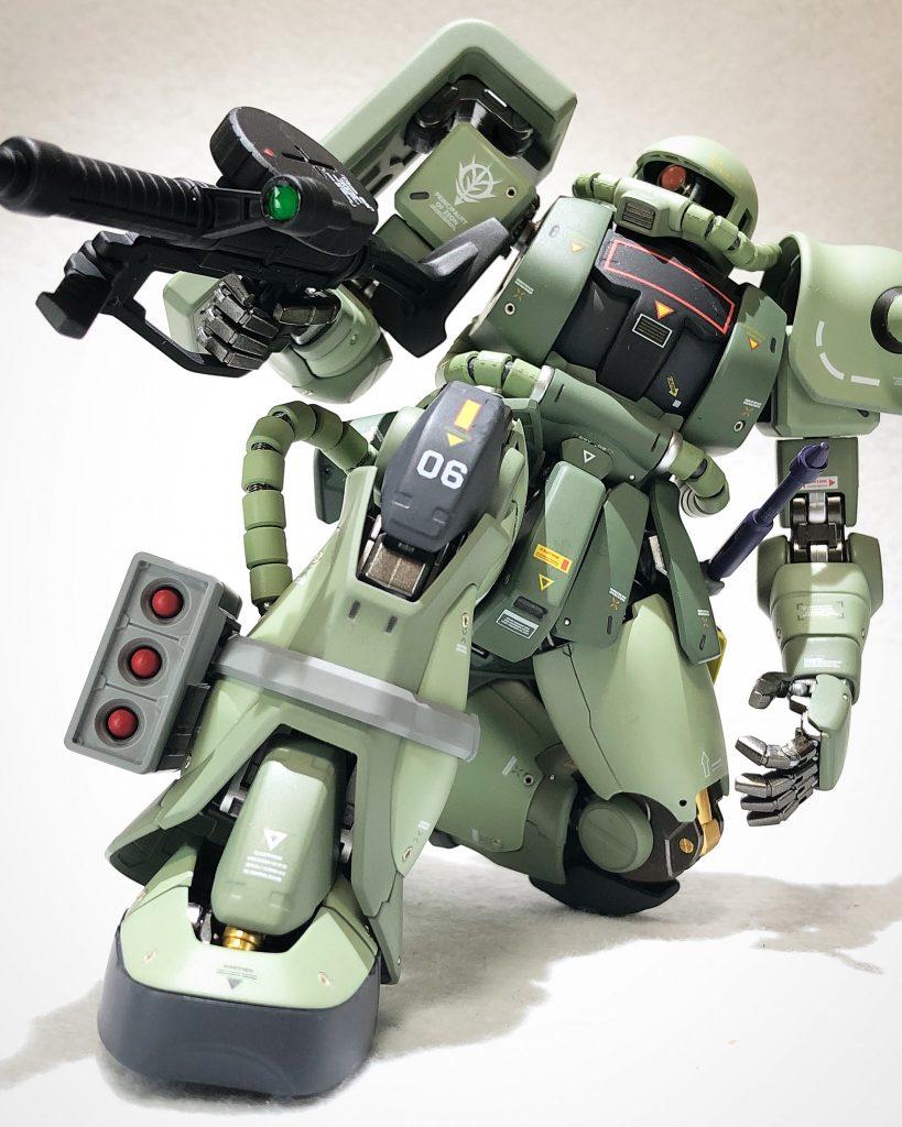 MG 1/100 ザクII J型 ver2.0 アピールショット1