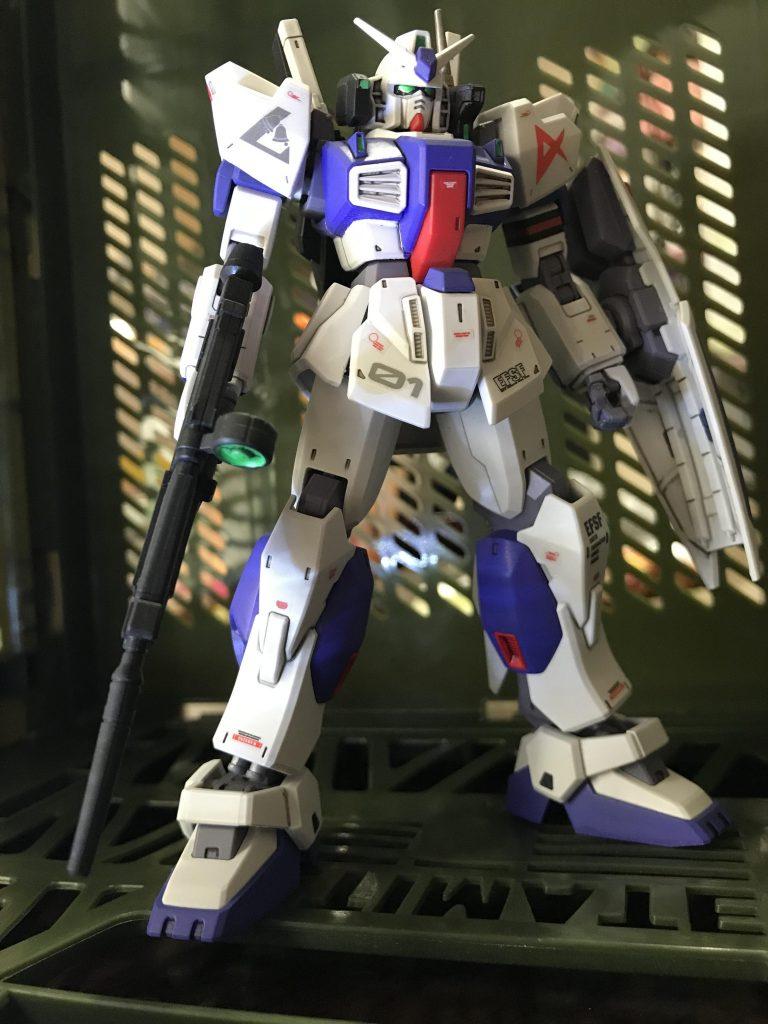 ガンダムMk-Ⅱ アムロ仕様 ロンドベル版 制作工程2