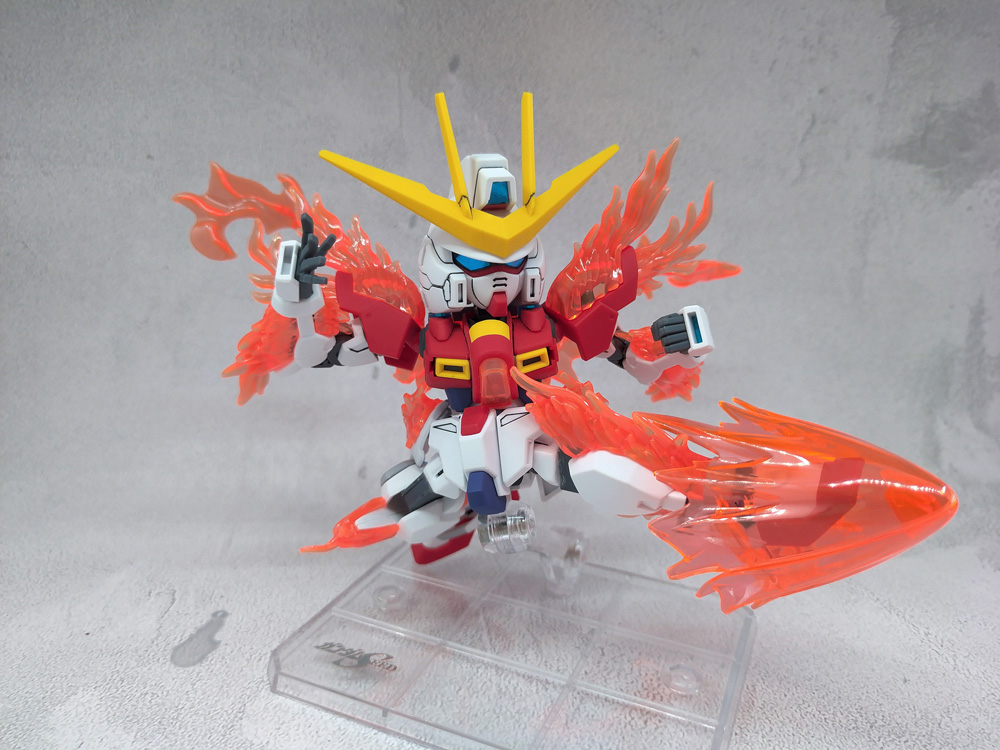 SD Try Burning Gundam 制作工程1