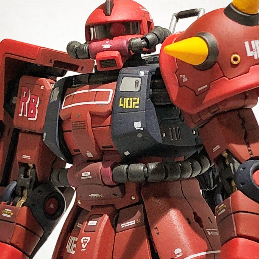 RG 1/144 ジョニーライデン専用ザクII