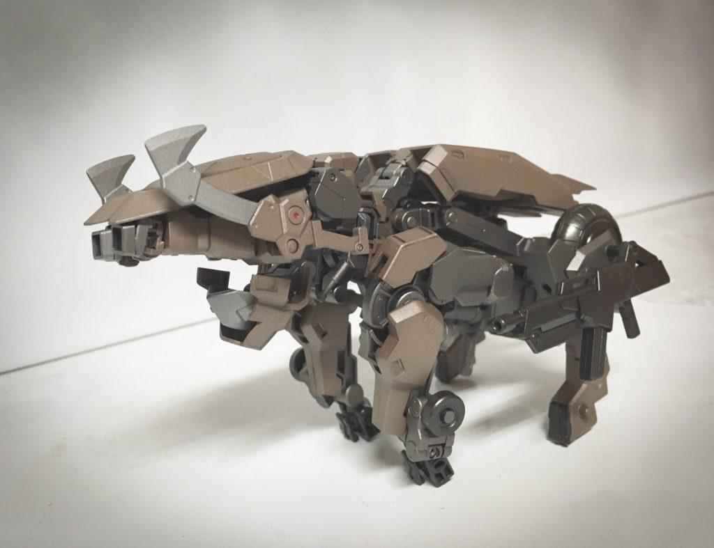 獅電 ヰ型 制作工程6