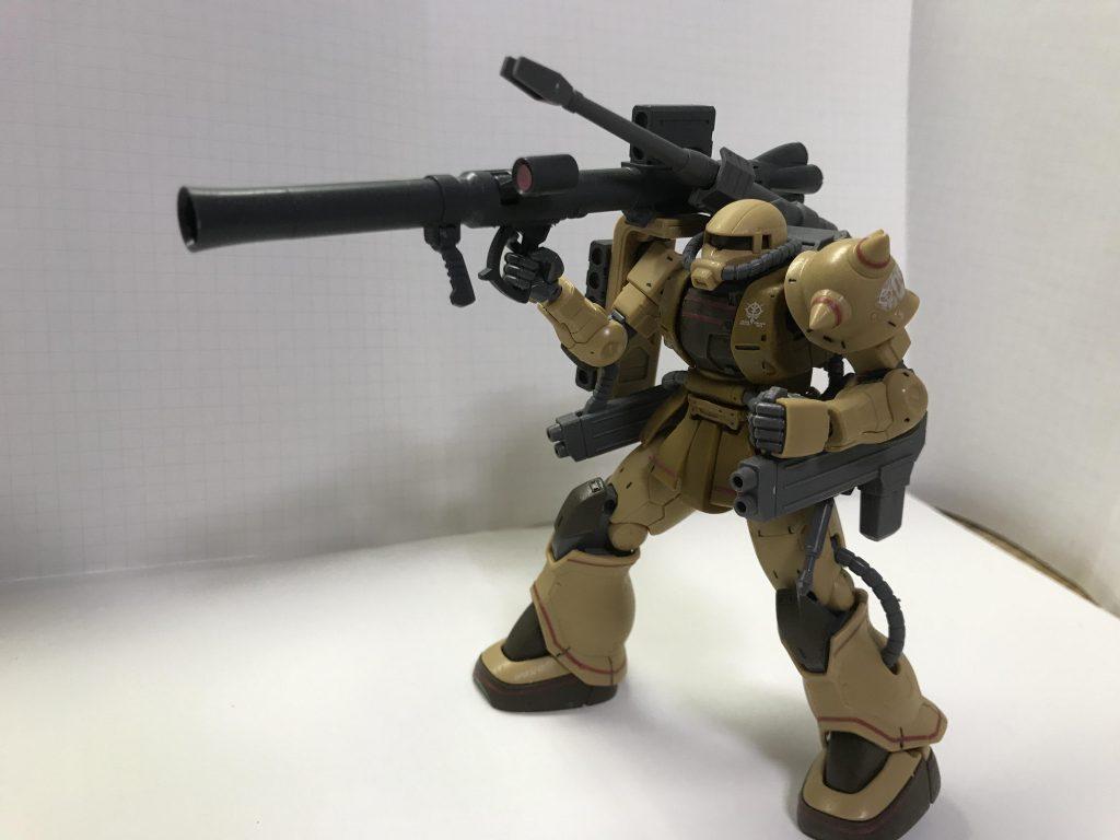 ザクハーフキャノン バズーカ装備型 アピールショット1
