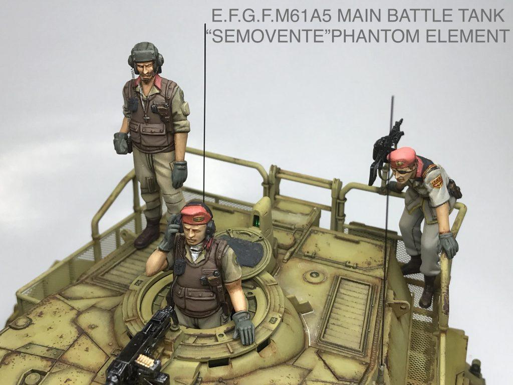 地球連邦軍61式戦車 アピールショット7