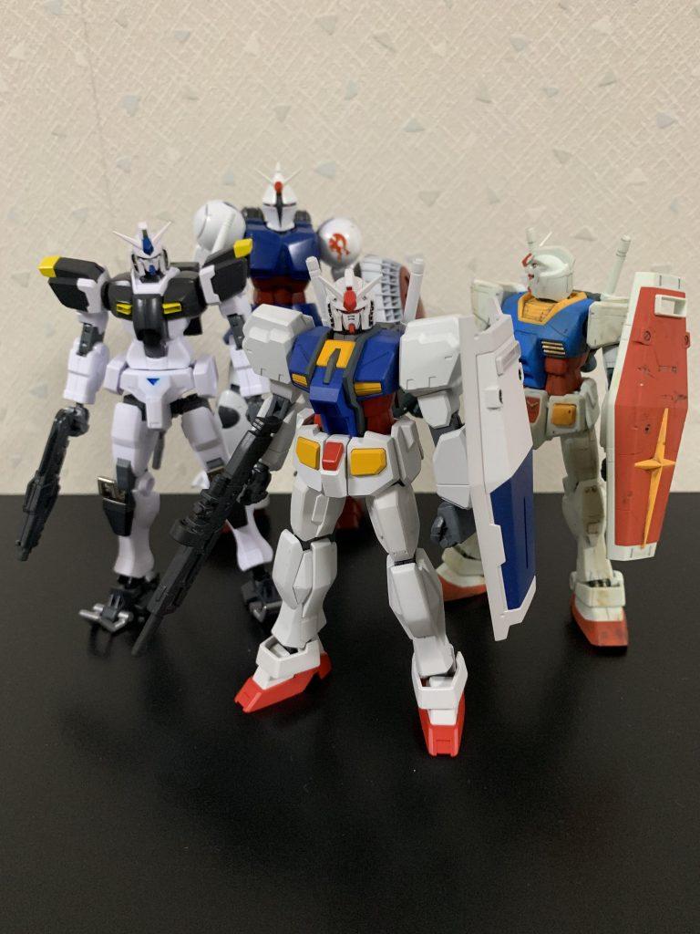 ガンダムR-01 制作工程8