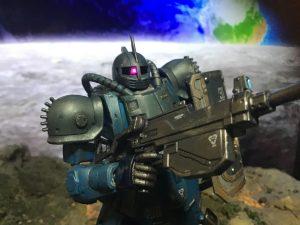 HG ブグ 月面の初MS戦