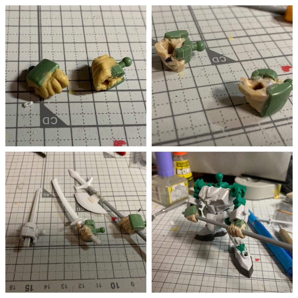 RX-零丸 神気結晶 制作工程6