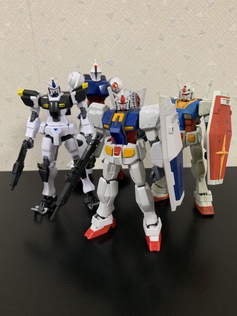 ガンダムR-01 制作工程7