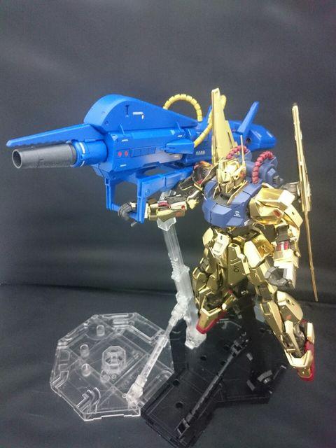 MG百式(艶ありメッキ)+メガバズーカランチャー アピールショット7