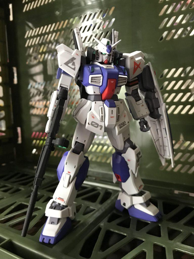 ガンダムMk-Ⅱ アムロ仕様 ロンドベル版 アピールショット1