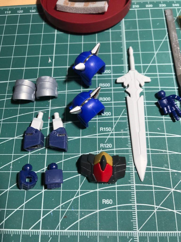 鎧騎士ガンダムF90 制作工程2