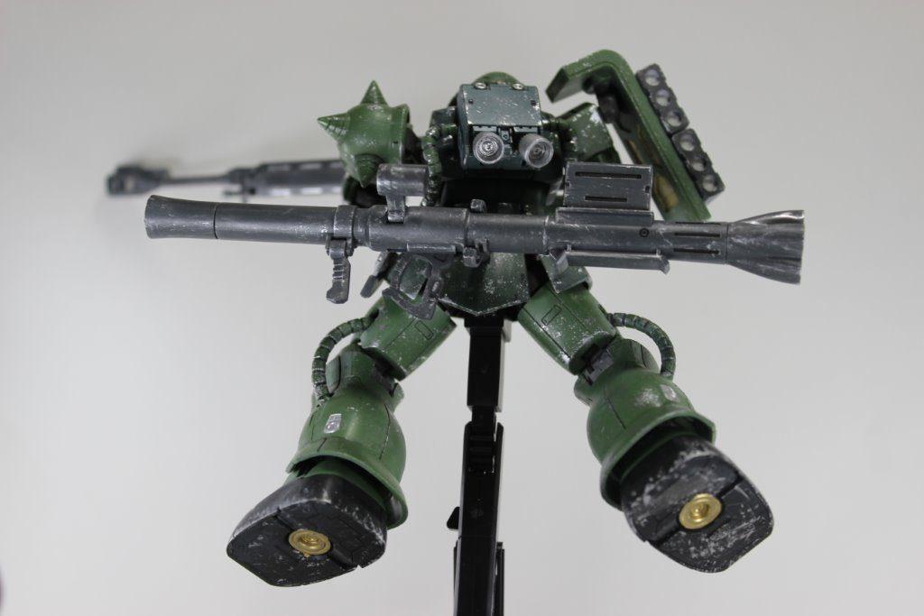 ザクⅡTYPEC-6/R6 制作工程3