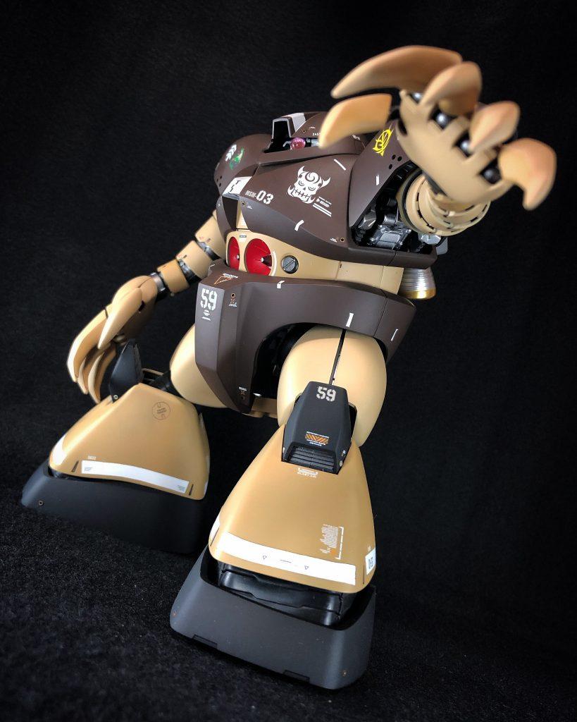 MG 1/100 ゴッグ アピールショット2